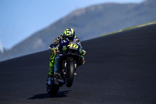 Valentino Rossi Portugal 2020 viernes