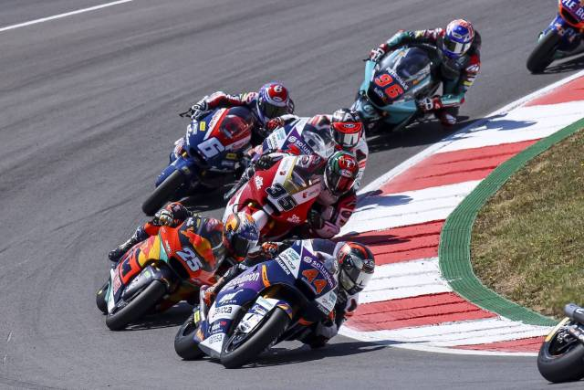 Arón Canet 2021 GP Portugal carrera