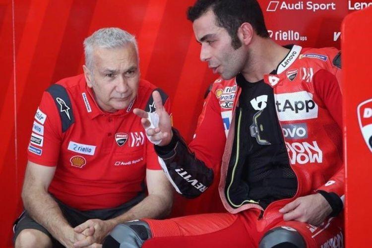 Davide Tardozzi, Danilo Petrucci 2019
