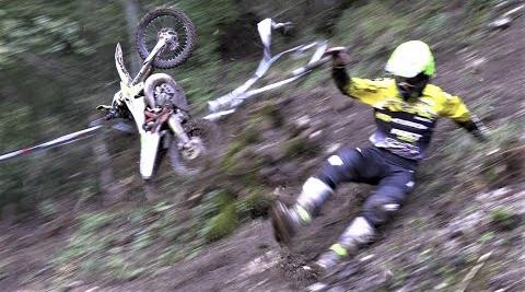 Vídeo, EnduroGP Itália, A difícil Extreme Test em Spoleto