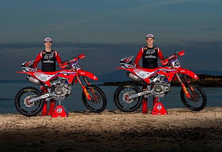 Team HRC renova contrato com Tim Gajser e Mitchell Evans