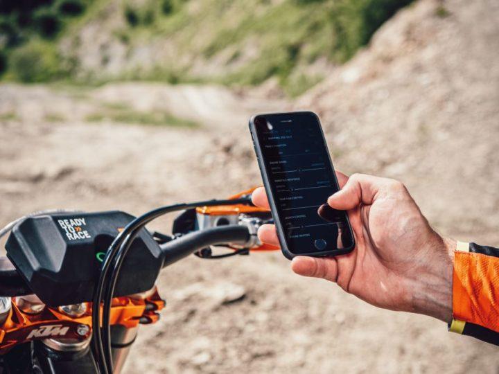 Regule sua KTM SX 2021 no TELEFONE! Veja!
