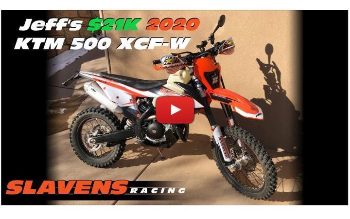 Video, KTM 500 de 21 mil dólares! 110 mil reais!