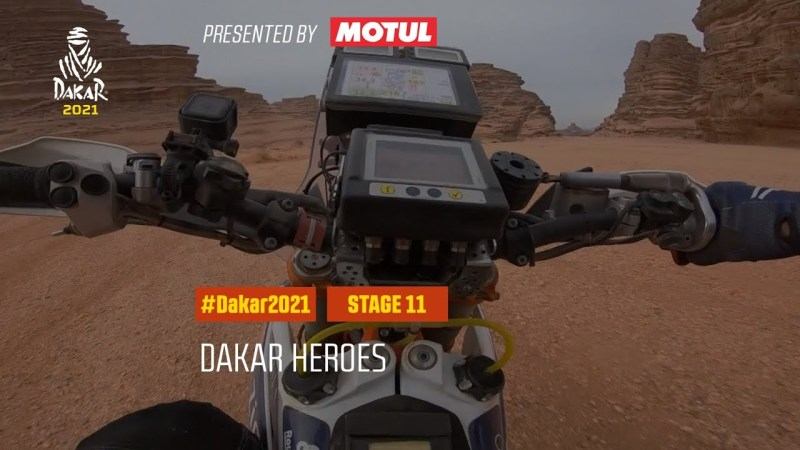 Video da 11 etapa do Dakar 2021