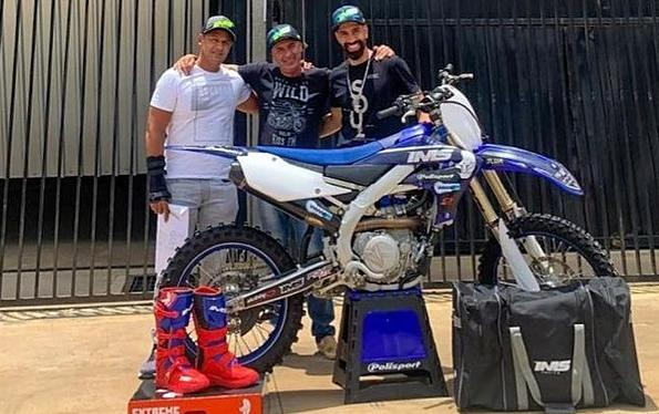 Motocross… Dudu Lima e IMS