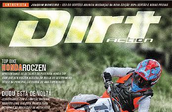 Nova REVISTA Dirt Action, Março, Especial teste KTM 450 SX-F 2021