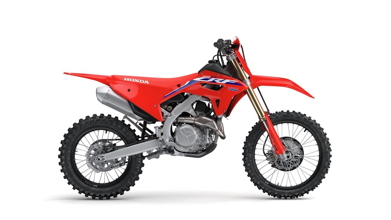 Primeiro olhar 2022 Honda CRF450RX