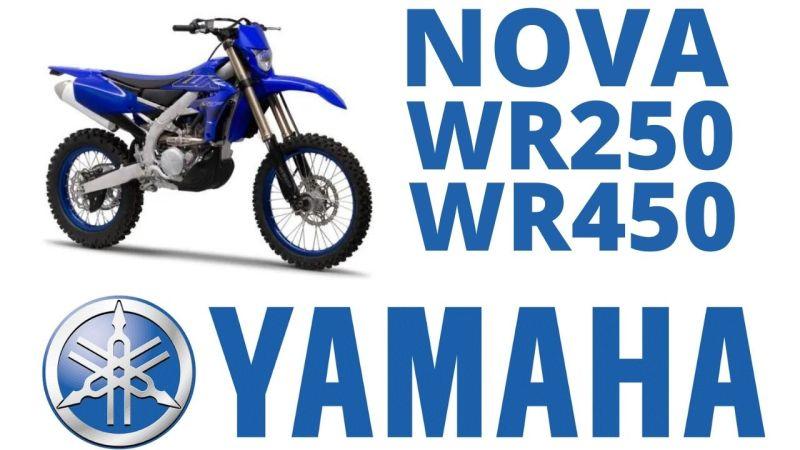 Novas Yamaha WR250F e WR450F2022