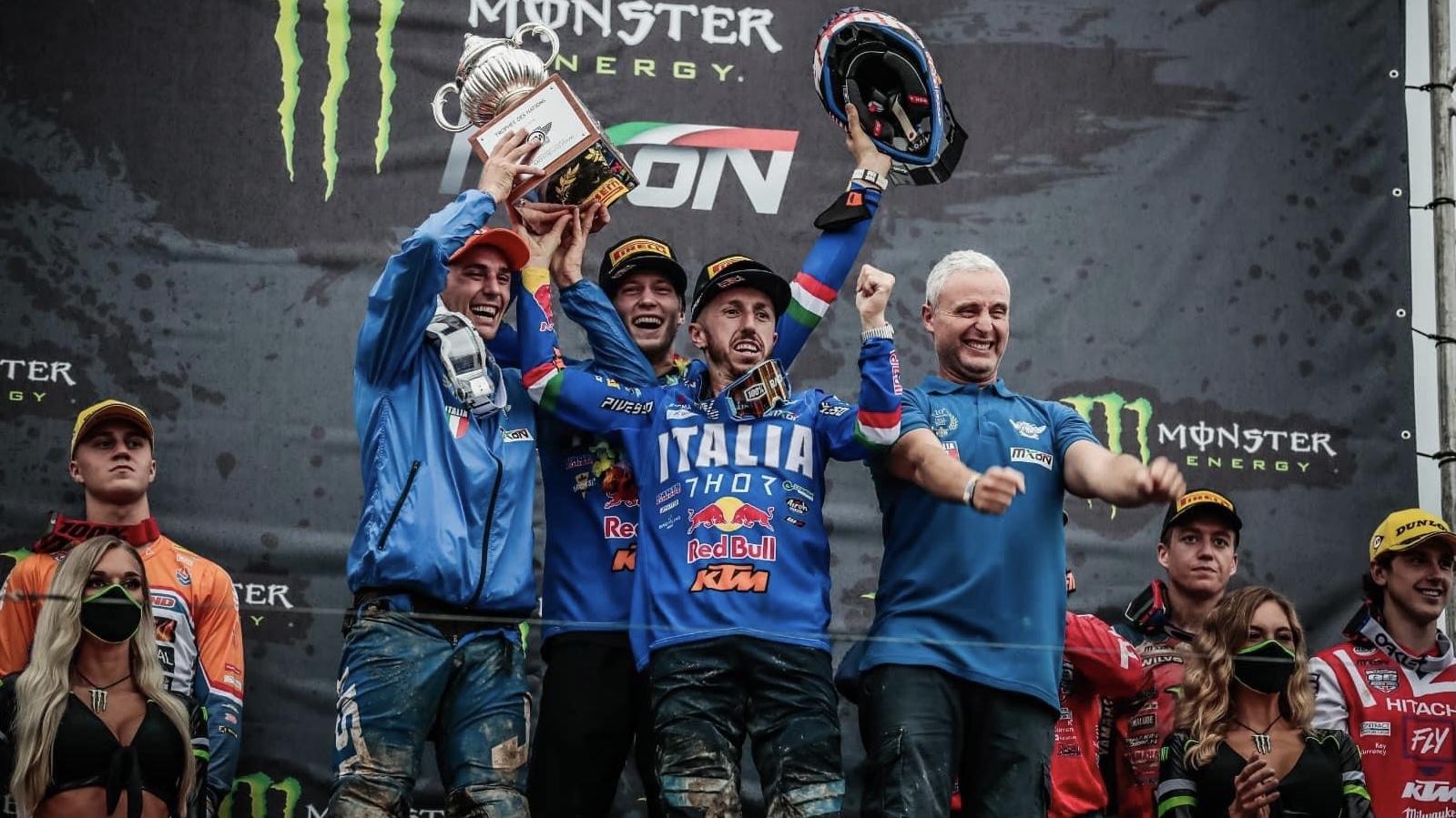 Italia vence EM CASA o Motocross das Nações 2021