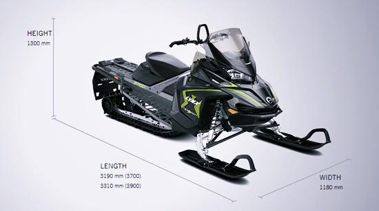 Lynx Xterrain 2020 Specs