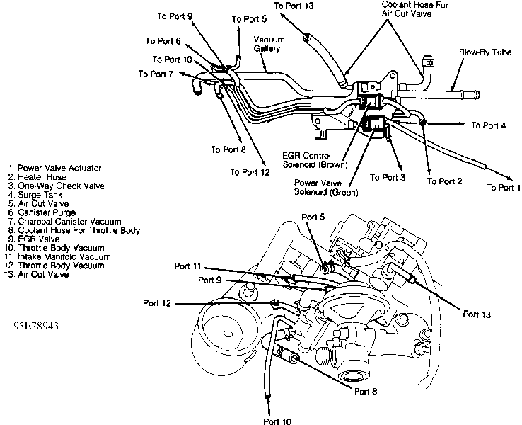 Exploded Diagram Of Engine Of 1997 Nissan Sentra Auto Parts Diagrams