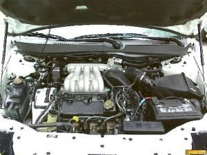 Ford 2000 Taurus FFV 3,0 4dr Sdn Wht Engine  Picture