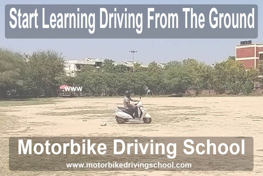 Learn driving in ground