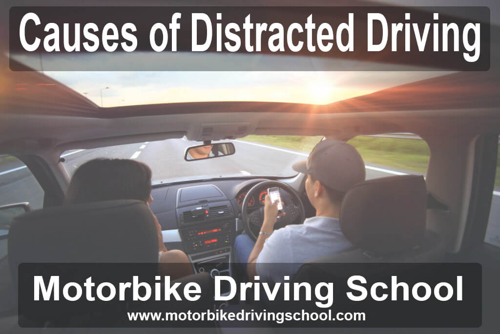 causes of distracted driving