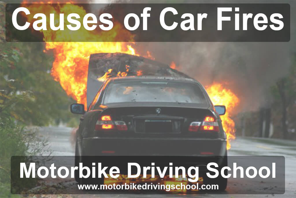 common causes of car fires