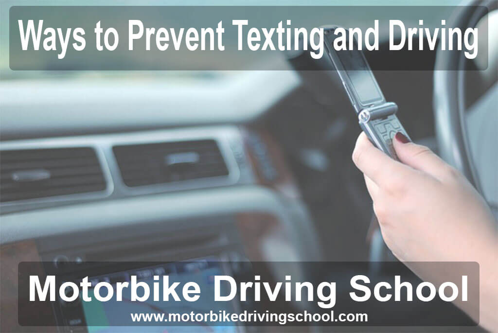 ways to prevent texting and driving