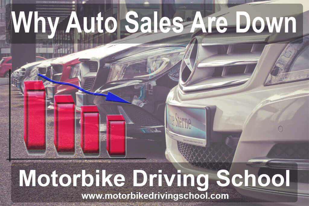 why auto sales are down