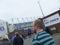 on the way to Goodison