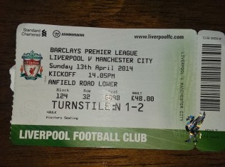 away at Anfield