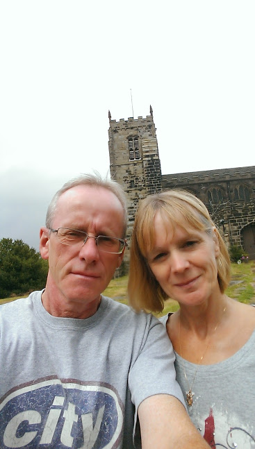 back home via the church we married in