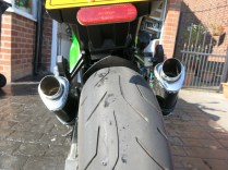 Baffles out - rear view