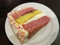 Decent slice of cake to share