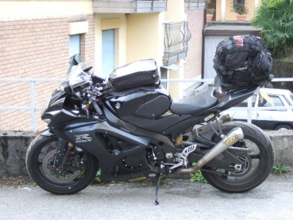 Packed up and ready to leave Baveno