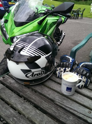 Perfect combination - coffee and the Z1000