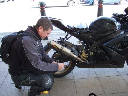 Micks bike