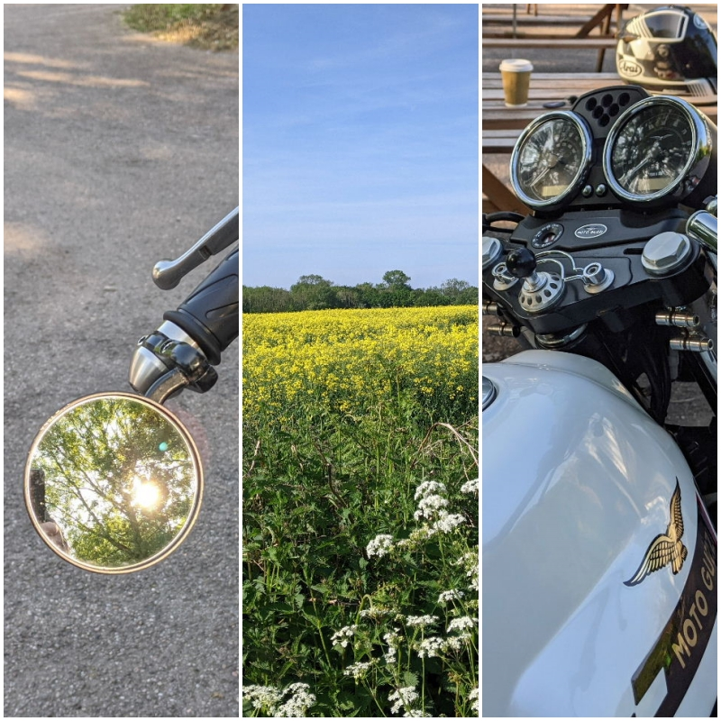 Back on two wheels and a return to something like normal … part two