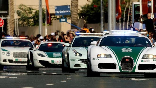 Polizei in Dubai