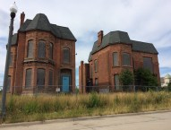 Mothballed and eagerly awaiting rebirth in Brush Park.