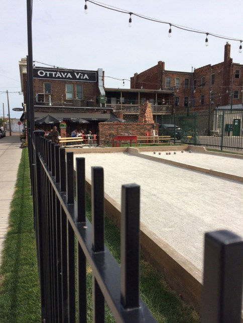 Italian dining and bocce ball in Corktown!