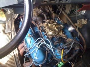 1979 Dodge Ran Star Wars Van Front 318 CI V8