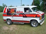 1979 Dodge Ran Star Wars Van Side