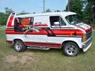 1979 Dodge Ran Star Wars Van Side