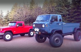 2012 Jeep Might FC (Forward Control) Jeep J12 Pickup Truck Concepts Headed to Moab