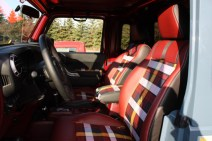 2012 Mopar Jeep Mighty FC Concept Gallery Plaid Seats -MotorCity