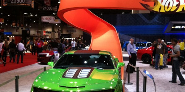 Full-Scale Fun: The Camaro Hot Wheels® Concept at SEMA Show