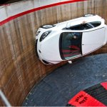 2012-Mazda-2-on-Motordrome-Wall-of-Death