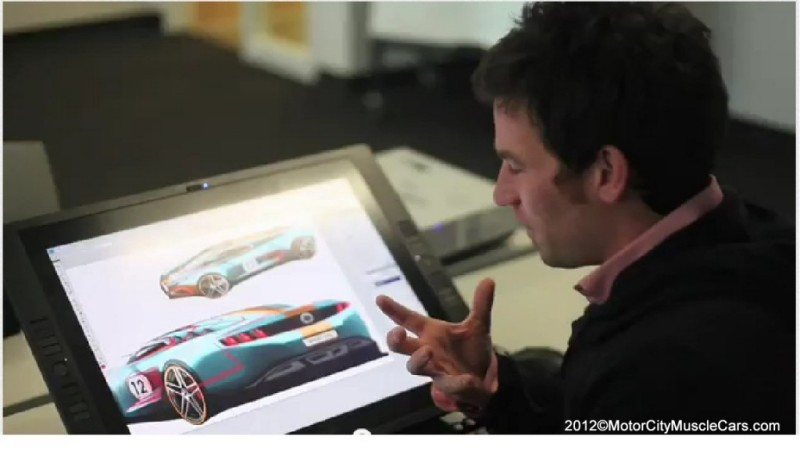 2014 50th Anniversary Ford Mustang Concept Spy Drawings Motor City
