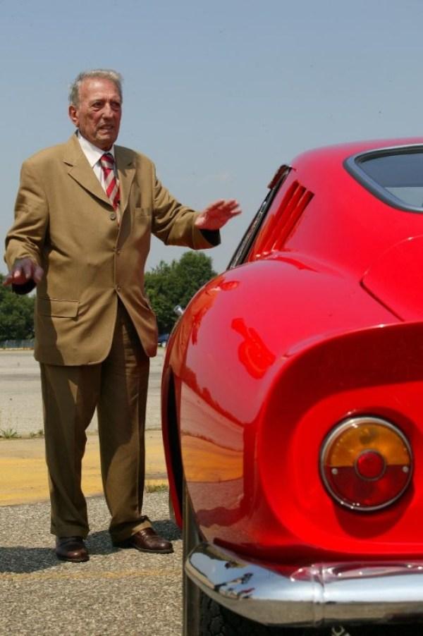 Famed Ferrari Designer Sergio Scaglietti 250 GTO