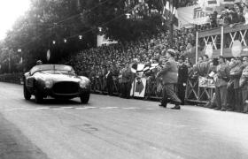 Count Giannino Marzotto Ferrari 195S Race Car Driver 1950s