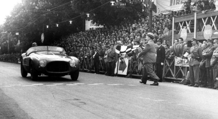 Count Giannino Marzotto Ferrari 195S Race Car Driver 1950s