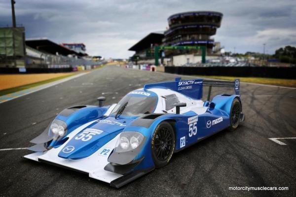 Mazda LMP2 Prototype 2 Skyactiv-D Clean Diesel 2013 Le Mans Race