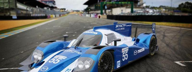 Mazda Readies SKYACTIV-D Diesel Engines for 2013 24 Hours of Le Mans