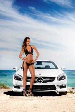 Vitamin A by Amahlia Stevens SL63 AMG Mercedes-Benz Supermodel