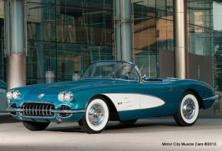 1958 Chevy Corvette Dan Akerson's Regal Turquoise