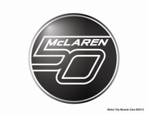 McLaren 50th Anniversary Logo