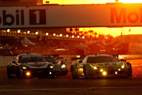 IMSA RAcing Sebring GTD_Sunset_MobilBridge